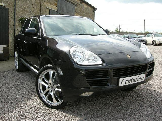 Used Porsche Cayenne 5 Doortiptronic S Full 4x4 Black 2006 Petrol for Sale in UK