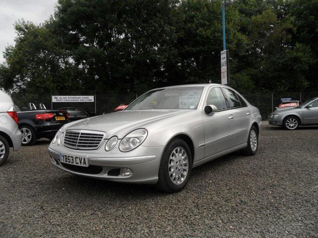Used mercedes benz 2003 diesel class e270 cdi elegance for Mercedes benz for sale under 5000
