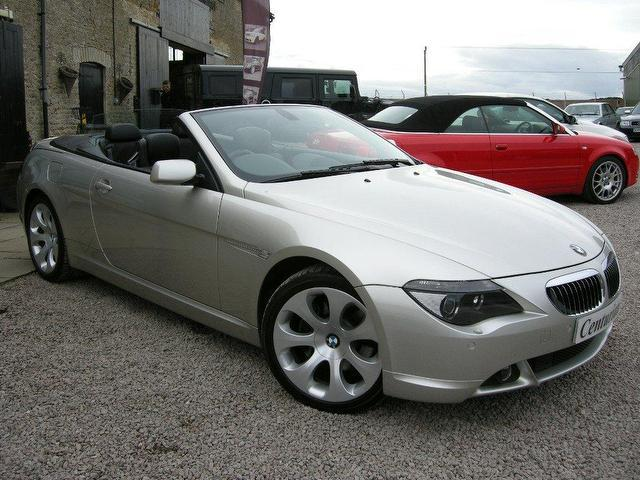 Used Bmw 6 Series 2005 Petrol 645ci 2dr Full Convertible Silver Automatic For Sale In Kettering Uk
