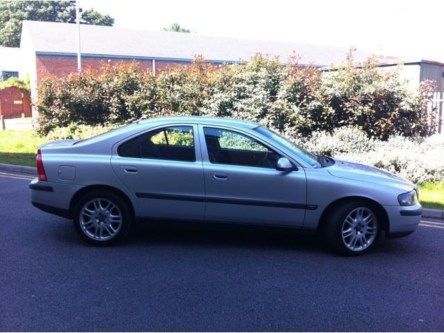 Used volvo s60 2002 diesel 2 4 d5 s 4dr saloon silver manual for sale