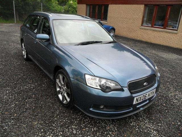 used subaru legacy 2006 petrol 3 0 r spec b estate blue. Black Bedroom Furniture Sets. Home Design Ideas