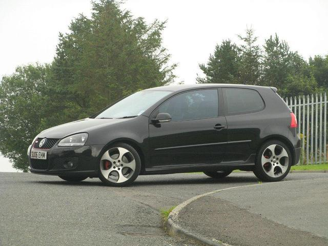 used volkswagen golf 2006 petrol gti 3dr hatchback black manual for sale in turrif uk. Black Bedroom Furniture Sets. Home Design Ideas