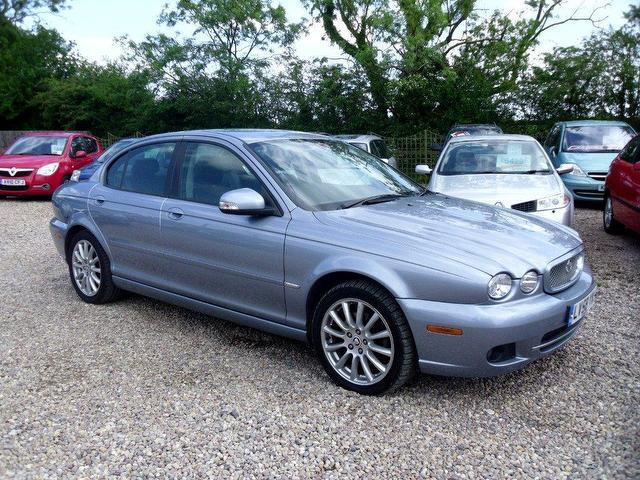 used jaguar x type 2009 diesel s 4dr saloon blue. Black Bedroom Furniture Sets. Home Design Ideas