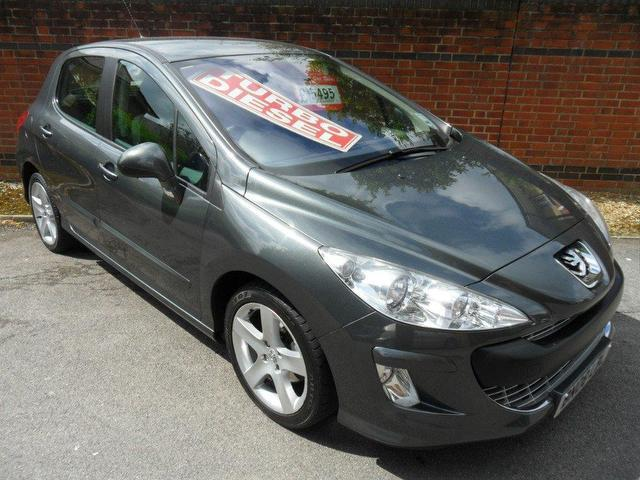 used peugeot 308 2008 diesel 1 6 hdi sport 5dr hatchback grey manual for sale in southampton uk. Black Bedroom Furniture Sets. Home Design Ideas