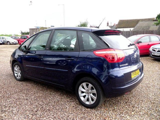 used citroen c4 2008 diesel picasso 16v vtr estate blue automatic for sale in nuneaton uk. Black Bedroom Furniture Sets. Home Design Ideas