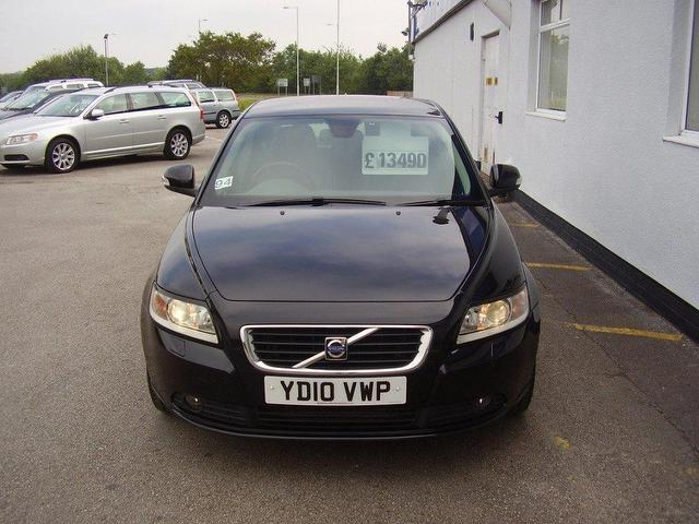 Used Volvo S40 2010 sel 2.0d Se Lux 4dr Saloon Black Automatic ...
