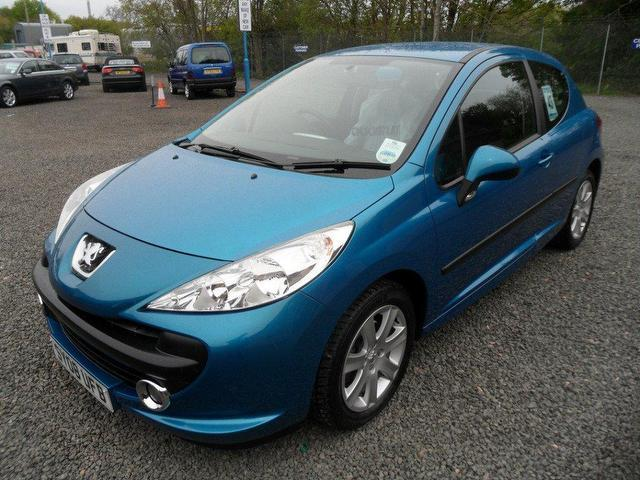 used peugeot 207 2008 diesel 1 6 hdi 110 sport hatchback blue manual for sale in inveralmond. Black Bedroom Furniture Sets. Home Design Ideas
