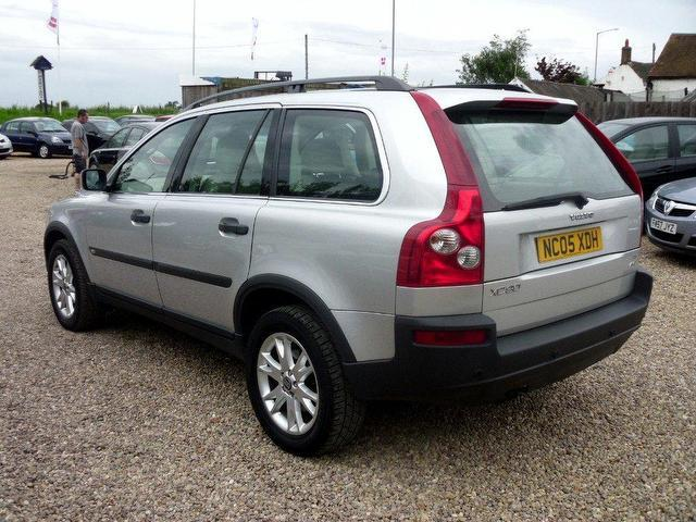used volvo xc90 2005 diesel 2.4 d5 se 5dr 4x4 silver automatic for