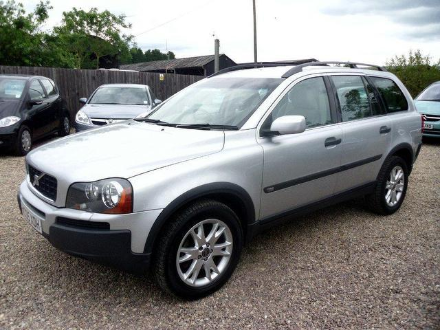 used volvo xc90 2005 diesel 2 4 d5 se 5dr 4x4 silver automatic for sale in nuneaton uk autopazar. Black Bedroom Furniture Sets. Home Design Ideas