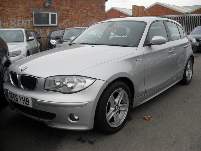 used bmw 1 series 2006 diesel 118d sport 5dr hatchback silver manual for sale in portsmouth uk. Black Bedroom Furniture Sets. Home Design Ideas