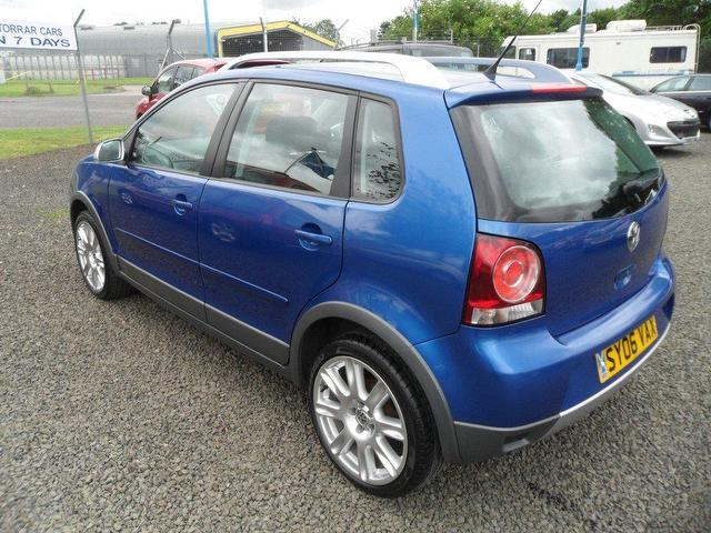 used volkswagen polo 2006 petrol 1 4 dune 5dr hatchback blue manual for sale in inveralmond. Black Bedroom Furniture Sets. Home Design Ideas