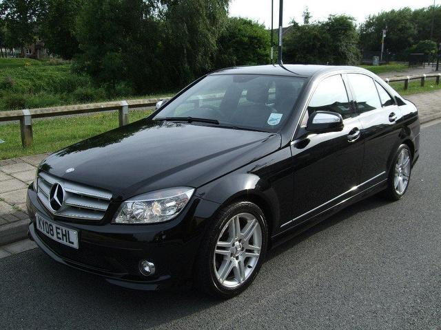Used mercedes benz 2008 diesel class c220 cdi sport saloon for Used mercedes benz sale