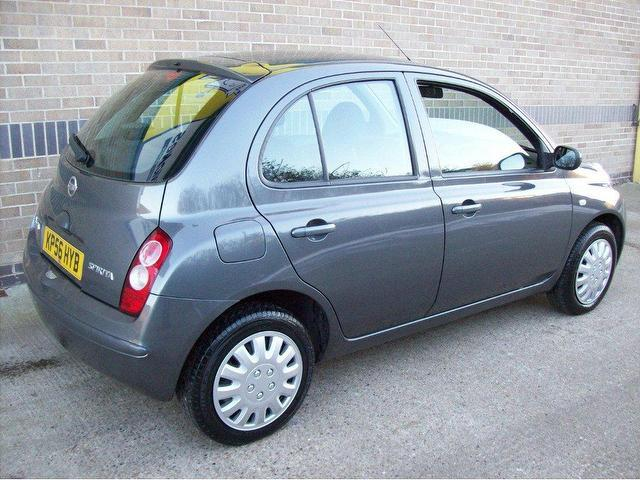 used nissan micra 2006 petrol 1 4 spirita 3dr hatchback grey manual for sale in norwich uk. Black Bedroom Furniture Sets. Home Design Ideas