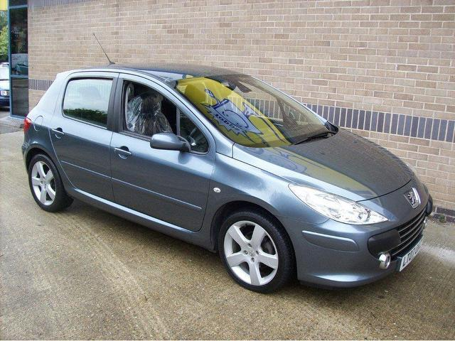 used peugeot 307 2007 petrol 1 6 sport 5dr hatchback grey manual for sale in norwich uk autopazar. Black Bedroom Furniture Sets. Home Design Ideas