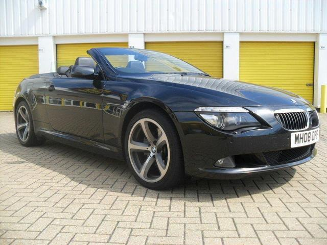 used bmw 6 series 2008 petrol 650i sport 2dr convertible. Black Bedroom Furniture Sets. Home Design Ideas