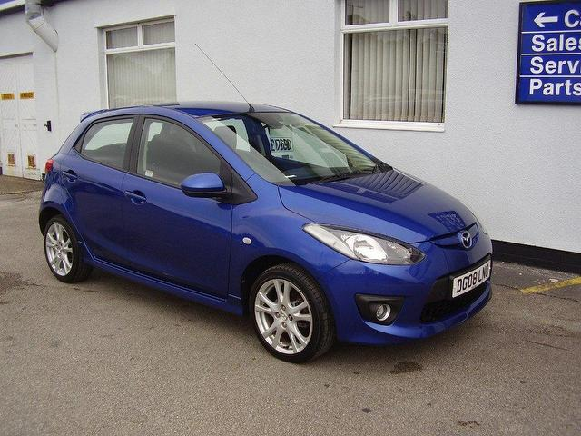 used mazda mazda2 2008 petrol 1 5 sport 5dr hatchback blue manual for sale in wirral uk autopazar. Black Bedroom Furniture Sets. Home Design Ideas