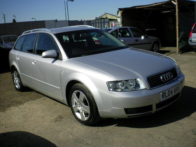 used audi a4 2004 diesel 1 9 tdi 130 se estate silver automatic for sale in wembley uk autopazar. Black Bedroom Furniture Sets. Home Design Ideas