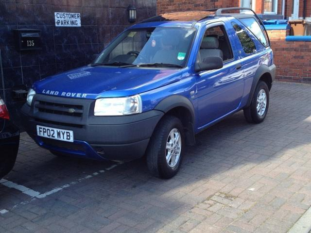 Rover 2002 Diesel Freelander 2.0 Td4 Gs 4x4 Blue Automatic For Sale ...