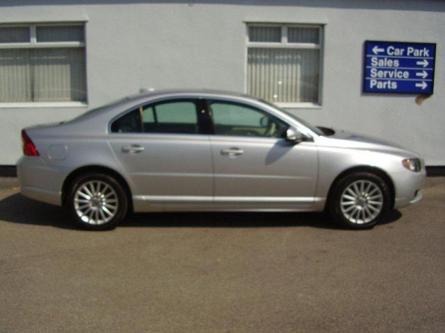 used volvo s80 2007 diesel 2 4 d se 4dr saloon silver automatic for sale in wirral uk autopazar. Black Bedroom Furniture Sets. Home Design Ideas