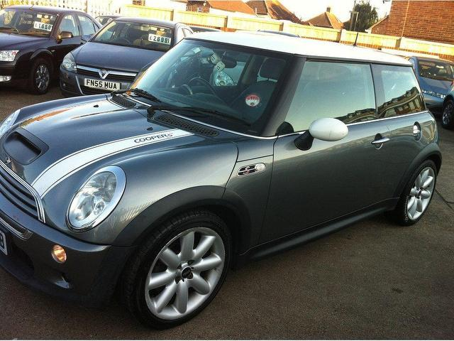 used mini 1 6 2002 petrol cooper s 3dr hatchback grey manual for sale in ashford uk autopazar. Black Bedroom Furniture Sets. Home Design Ideas