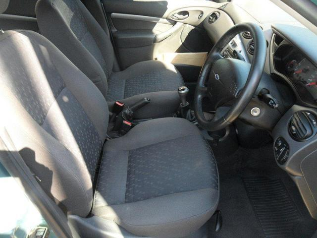 used ford focus 2002 petrol 1 8 zetec 5dr xx hatchback green manual for sale in southampton uk. Black Bedroom Furniture Sets. Home Design Ideas