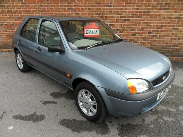 used ford fiesta 2001 petrol 1 3 flight 5dr xx hatchback silver manual for sale in southampton. Black Bedroom Furniture Sets. Home Design Ideas