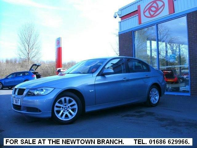 Used Bmw 3 Series 320i Es [170]  Green 2007 for Sale in UK