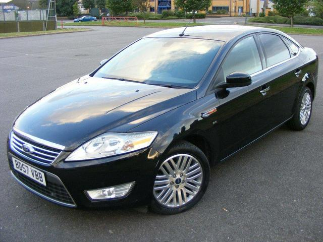used ford mondeo 2007 petrol 2 0 ghia 4dr one owner new saloon black manual for sale in wembley. Black Bedroom Furniture Sets. Home Design Ideas
