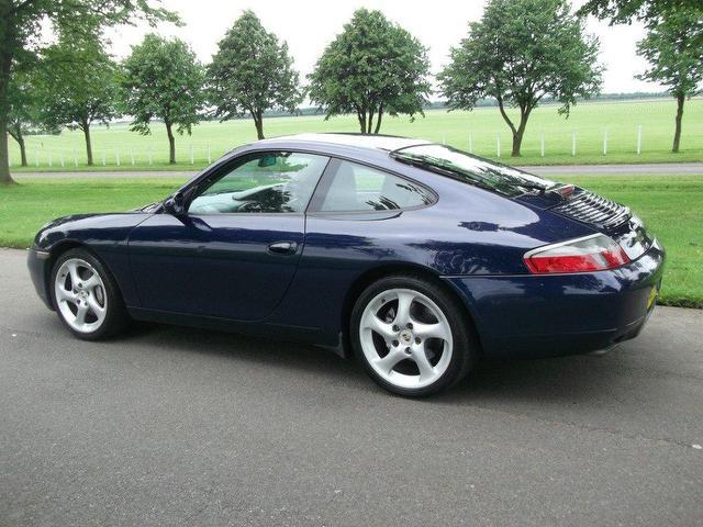 Used Porsche 911 2001 Petrol 2dr 996 3 4 Coupe Blue Manual