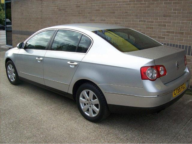 used volkswagen passat 2005 diesel 2 0 se tdi 4dr saloon silver manual for sale in norwich uk. Black Bedroom Furniture Sets. Home Design Ideas