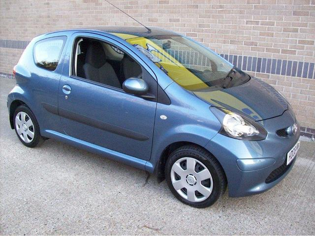 used toyota aygo 2008 petrol 1 0 vvt i blue 3dr hatchback manual for sale in norwich uk autopazar. Black Bedroom Furniture Sets. Home Design Ideas