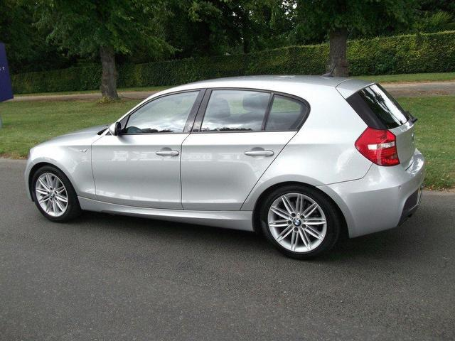 used bmw 1 series 2009 diesel 118d m sport hatchback silver manual for sale in newmarket uk. Black Bedroom Furniture Sets. Home Design Ideas