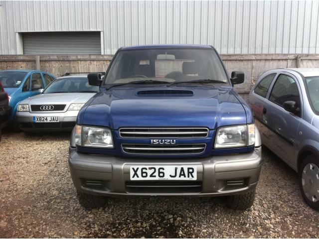 used isuzu trooper 2000 diesel 3.1 turbo 3dr 4x4 blue manual for