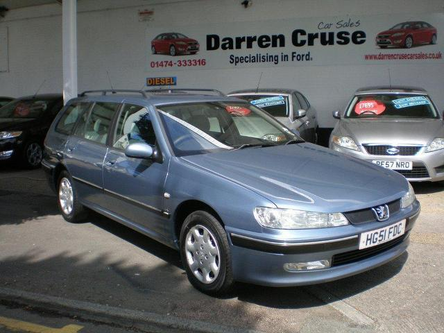 Used Peugeot 406 2001 Blue Estate Petrol Manual for Sale