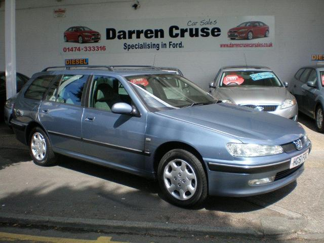 Used Peugeot 406 2.0 Lx 5 Door [ac] Estate Blue 2001 Petrol for Sale in UK