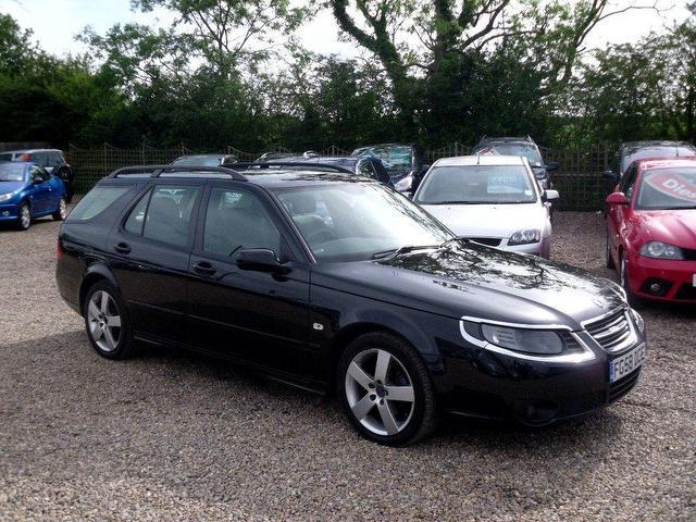used saab 9 5 2008 diesel turbo edition 5dr estate. Black Bedroom Furniture Sets. Home Design Ideas