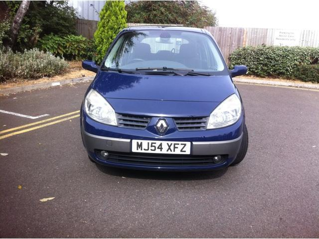 used renault grand 2005 petrol scenic 1 6 vvt dynamique estate blue with for sale autopazar. Black Bedroom Furniture Sets. Home Design Ideas