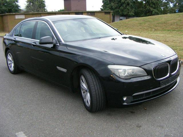used bmw 7 series 740li 4 door auto saloon black 2009 petrol for sale. Cars Review. Best American Auto & Cars Review