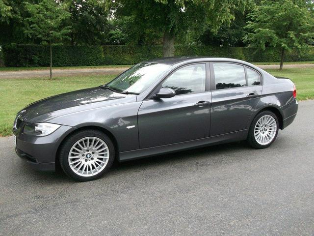used bmw 3 series 2006 grey edition diesel 320d se 4 door. Black Bedroom Furniture Sets. Home Design Ideas