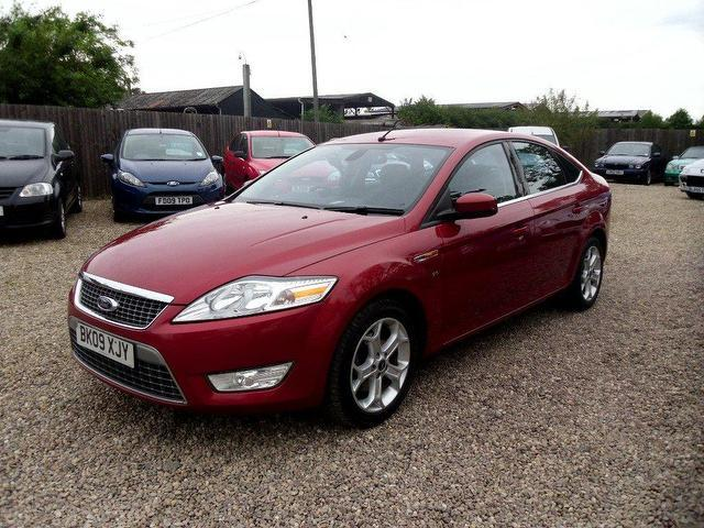 used ford mondeo 2009 diesel 2 0 tdci titanium sat hatchback red edition for sale in nuneaton uk. Black Bedroom Furniture Sets. Home Design Ideas