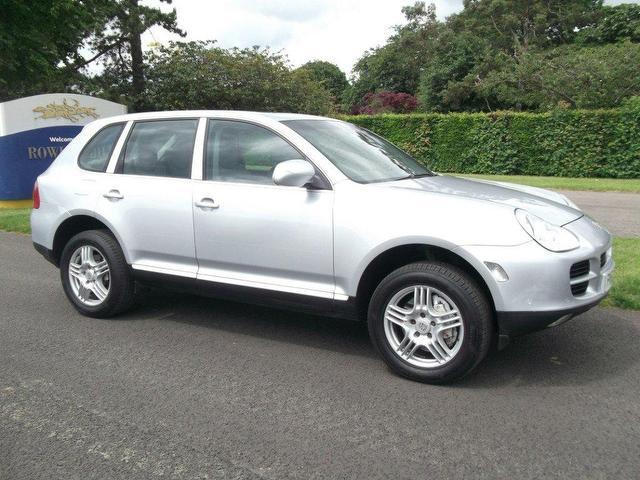 Used Porsche Cayenne 2003 Silver 4x4 Petrol Automatic for Sale