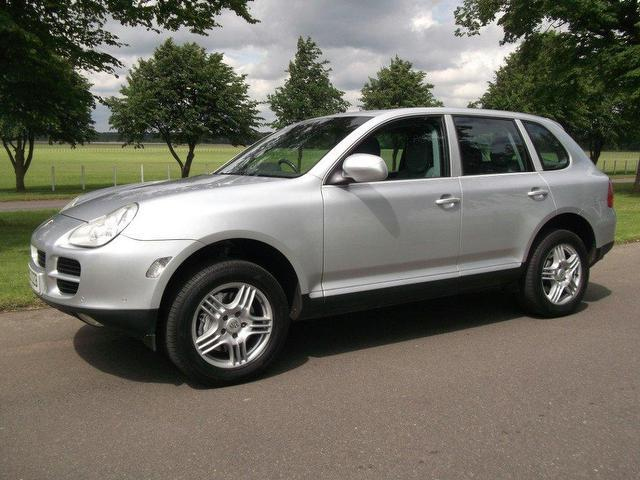 Used Porsche Cayenne S 5 Door Tiptronic 4x4 Silver 2003 Petrol for Sale in UK