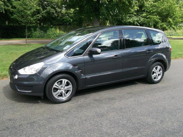 used ford s max 2007 diesel 2 0 tdci zetec 5dr estate grey edition for sale in newmarket uk. Black Bedroom Furniture Sets. Home Design Ideas