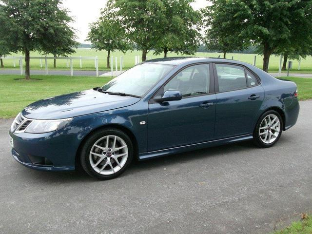 Used Cars In Newmarket >> Used Saab 9 3 2008 Diesel 1.9tid Vector Sport Anniversary Saloon Blue With For Sale - Autopazar
