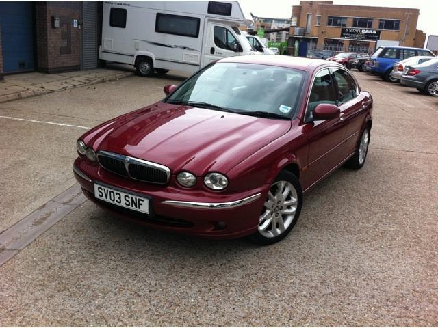 2003 jaguar x type price