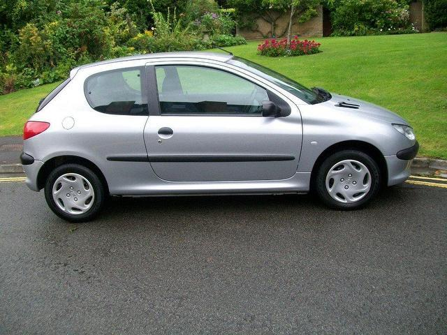 Used Peugeot 206 2002 Silver Edition Petrol 1 1 Style 3