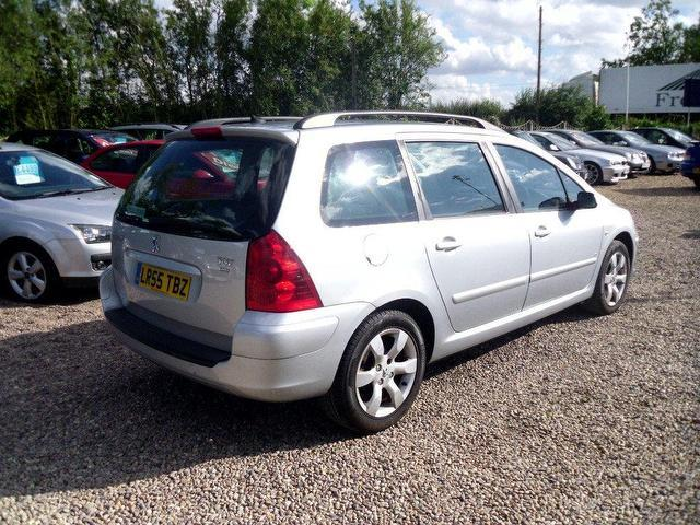 used peugeot 307 2005 diesel 1 6 hdi 110 s estate silver manual for sale in nuneaton uk autopazar. Black Bedroom Furniture Sets. Home Design Ideas