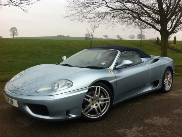 used ferrari 360 2002 petrol spider 2dr only 11000 convertible blue edition f. Cars Review. Best American Auto & Cars Review
