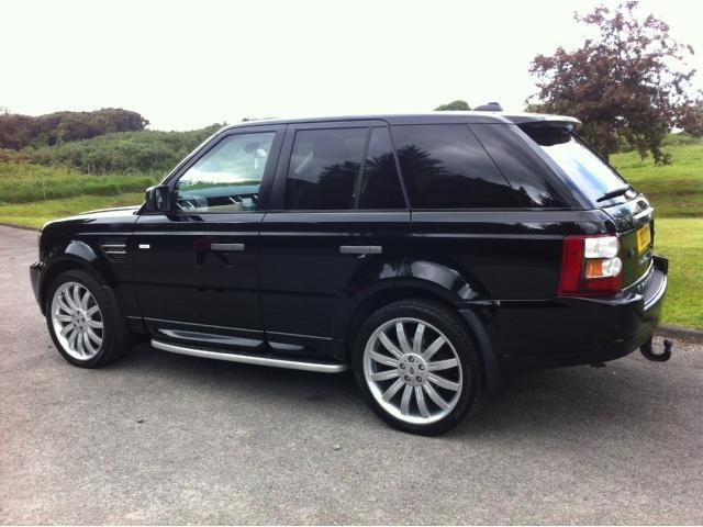 used landrover rover 2006 diesel range sport 2 7 4x4 black automatic for sale in stoke on trent. Black Bedroom Furniture Sets. Home Design Ideas
