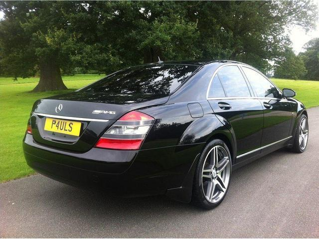 used mercedes benz 2006 diesel class s320 cdi 4dr saloon black edition for sale in stoke on. Black Bedroom Furniture Sets. Home Design Ideas
